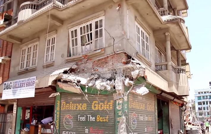 घनाबस्ती र अव्यवस्थित शहर काठमाडौंलाई धेरै समय अघिदेखि नै भूकम्पबाट खतरायुक्त शहरको रुपमा वर्णन गरिँदै आइएको