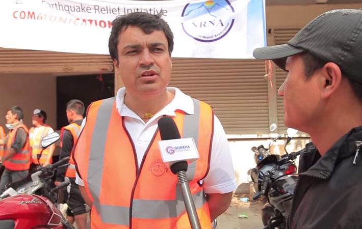गैर आवसीय नेपालीहरुले पनि भूकम्प पीडित नेपाली दाजुभाइका लागि राहत संकलन