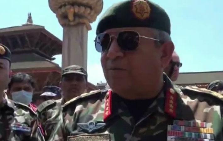 प्रधानसेनापति गौरव शमशेर राणाले भूकम्प प्रभावित क्षेत्रमा नेपाली सेना अहोरात्र खटिरहेको बताउनुभएको