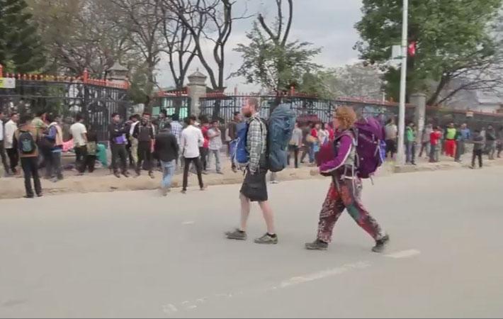 भूकम्पपछि युरोपका करिव एक हजार पर्यटक हराएका