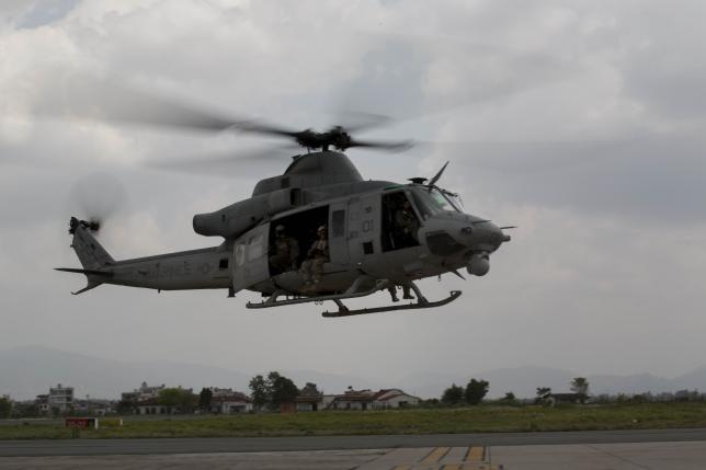 बेपत्ता अमेरिकी हेलिकप्टर